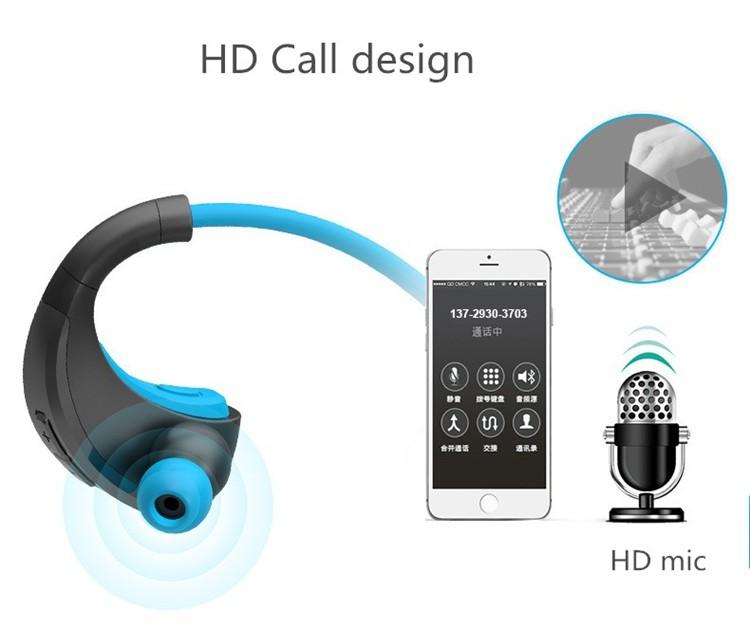 Dacom Armor Bluetooth V4.1 Stereo Headphones IPX5 Waterproof Wireless Outdoor Sports Headset Handsfree Music Earphone With Mic(7)