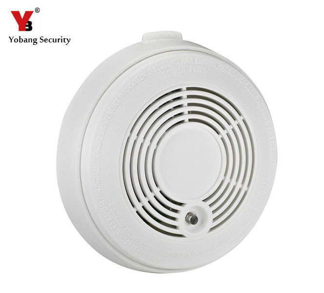 YobangSecurity Advanced Battery operated Combination Carbon Monoxide And Smoke font b Alarm b font Detector White