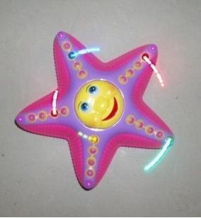 Eléctrico universal estrella de mar puede cantar y bailar parpadeará su lengua