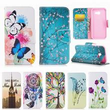 For Coque Samsung Galaxy A5 2017 Case Leather Wallet Silicone Cover Samsung Galaxy A5 Prime Case Flip Cell Phone Case