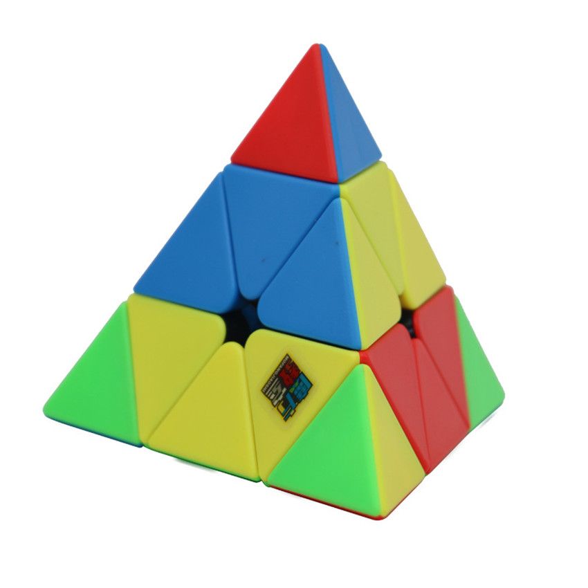 MoYu MeiLong Cubingclassroom Pyramid Magic Cube 3x3x3 Speed Cubes Puzzle Twist Stickerless For Kids Education Toys Gift