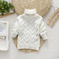 Baby Girl Boy Clothes High Neck Warm Sweater Children Toddler Kids Poloneck Turtleneck Winter Autumn Pullover Knit Loose Top