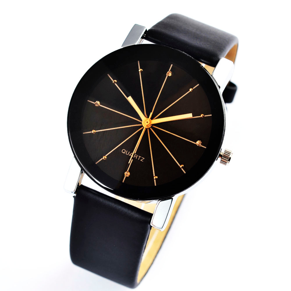 2019 Fashion Watch Brife Relojes Splendid High Quality Men Women Quartz Watch Casual Luxury Leather Wristwatch Wholesale Relojes
