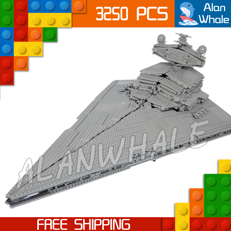 3250pcs New Space Wars universe 05027 Star Destroyer DIY Model Building Blocks Great Teenagers Toys Bricks Compatible with Lego