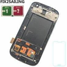 Для Samsung Galaxy S3 i9300 i9300i i9301 i9308i i9301i супер ЖК дисплей 100% тестирование работы сенсорный экран сборки стекло