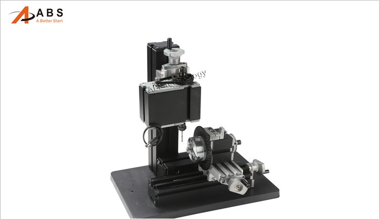 12000rmin 60W,All-Metal 8 in 1,Milling ,Drilling ,Wood Turning,Jag,Saw,Sanding Mini Lathe Machine,for DIY work tool (13)
