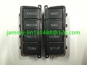 VW Volkswagen CD PLAYER Panel Plastic Button (Panel keys) for VW RNS510 Skoda Columbus RNS510 sat nav navigation audio systems(China)