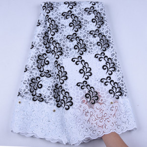 Image 5 - Pure White Milk Silk Lace African Net Lace Fabric French Lace Fabric High Quality Nigerian Lace Fabric For Wedding Dress1630B