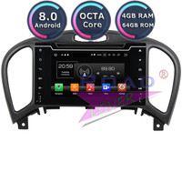 Roadlover Android 8.0 Car DVD Player Autoradio For Nissan Juke 2004 2015 2016 Stereo GPS Navigation Magnitol 2 Din HD Screen MP3