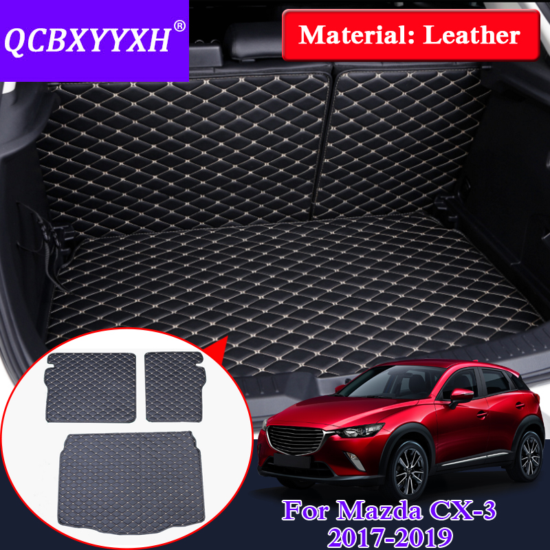 2019 Mazda Cx 3: QCBXYYXH For Mazda CX 3 2017 2019 Car Styling Rear Trunk
