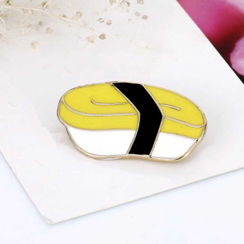 ed2998a01b08 DoreenBeads Creative Unique Sushi Fish Lunch Box Pin Brooches Safety Pins  Fashion Accessory for Jacket Coat T Shirt Bag Decor