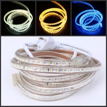 Buy rope light clips and get free shipping on aliexpress xunata 120ledsm 240v 220v led strip light smd3014 waterproof whitewarm whiteblue aloadofball Images