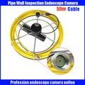 50m Beruf Fiberglas kabel für Schlange Unterwasser Kanalisation Ablauf Rohr Inspektion Endoskop Kamera