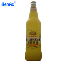 AC086 BENAO 5m Customized Made Promotional Giant Inflatable Empty Beer Bottles/ Inflatable Wine Beer Bottle Replicas Advertising