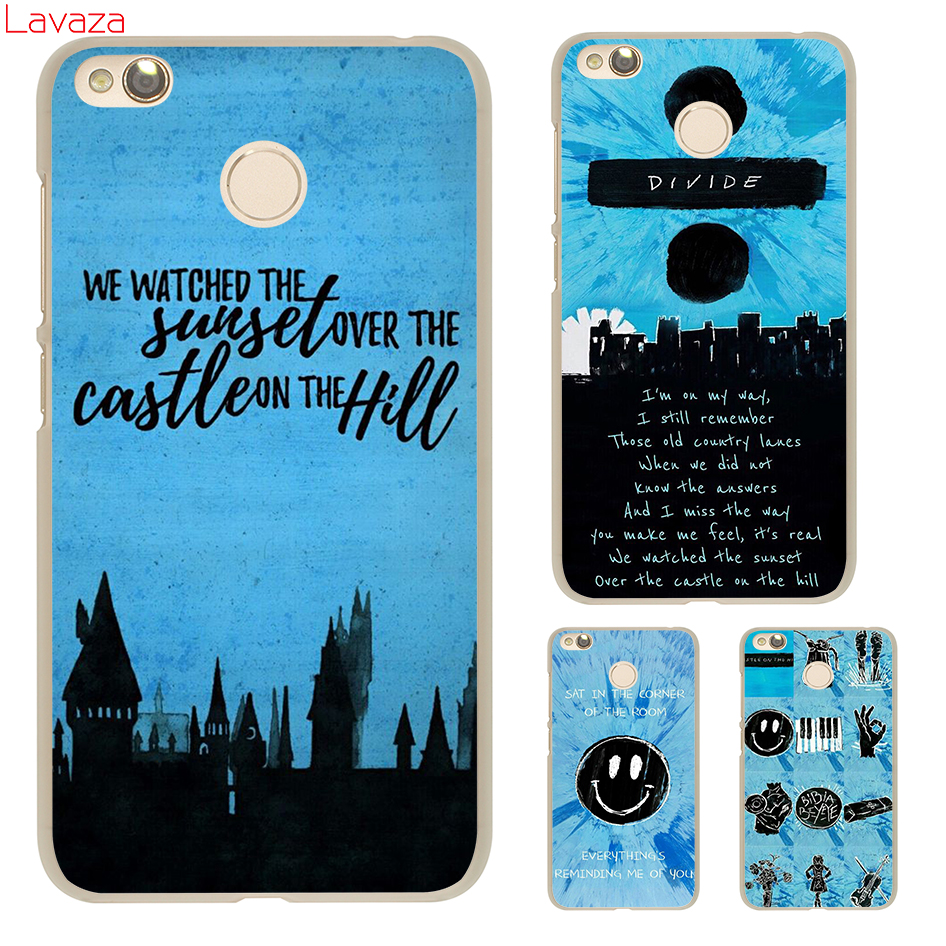 Lavaza HAPPIER castle on the hill Hard Case for Xiaomi Redmi 4X Mi A1 8 SE 6 5 5X 5S Plus Note 5A 4A 3 3S 4 4X 5 Pro Prime Cover
