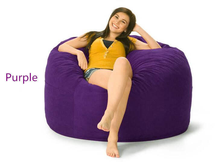Bean Bag Chairs For Kids Purple aliexpress : buy bean bag chair for kids/adult lazy boy sofa