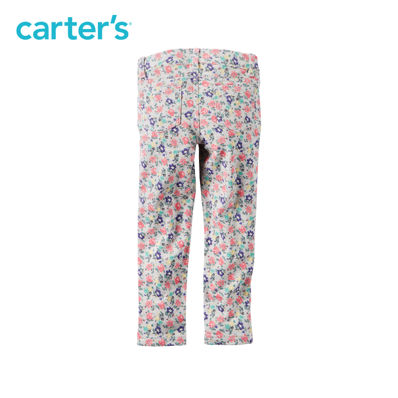 3b16f715d9bbe Carter's 1pcs baby children kids Floral French Terry Jeggings 258G277,sold  by Carter's China official store