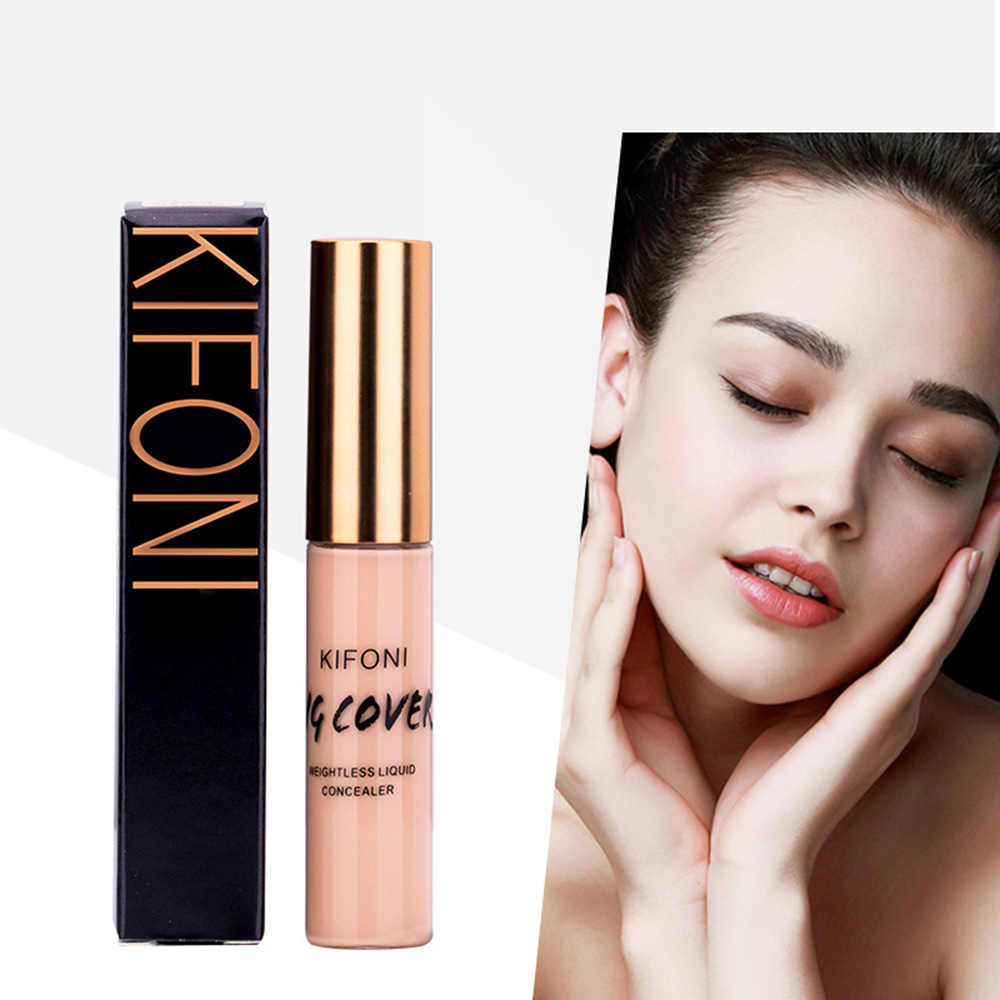 KIFONI Full Cover Makeup Liquid Concealer Cream Face Corrector Make Up Base For Eye Dark Circles Facial Natural Cosmetic TSLM1