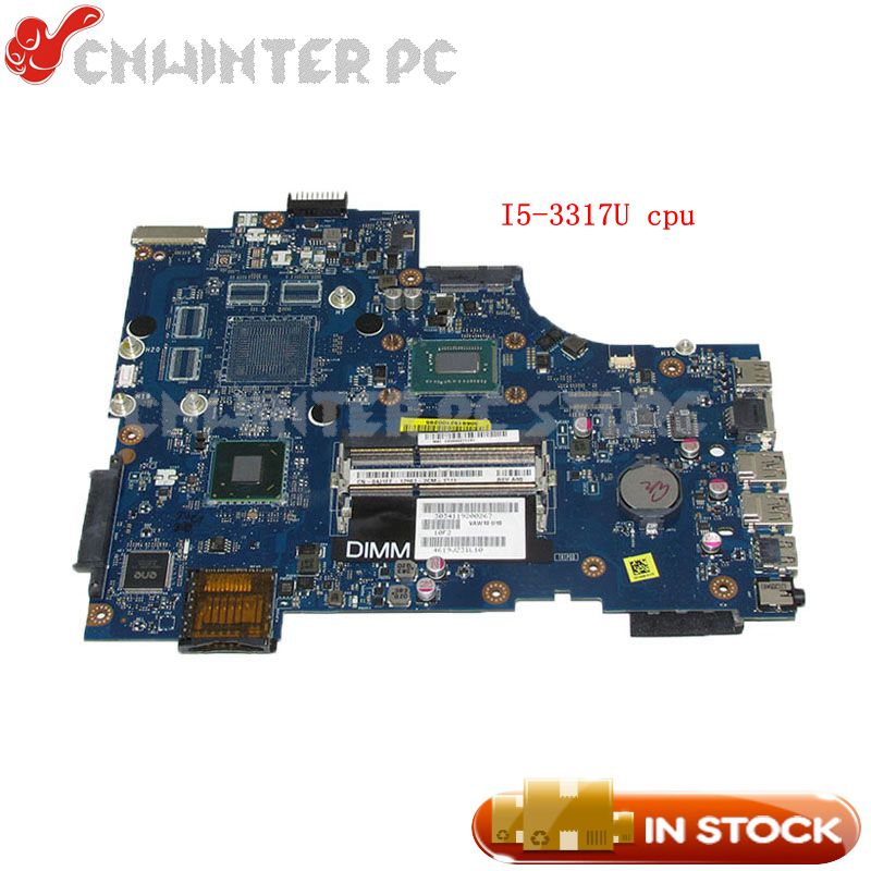 NOKOTION Main Board For Dell inspiron 17R 5721 Laptop Motherboard CN-04J1FF 04J1FF VAW11 LA-9102P SR0N8 i5-3317U cpu DDR3NOKOTION Main Board For Dell inspiron 17R 5721 Laptop Motherboard CN-04J1FF 04J1FF VAW11 LA-9102P SR0N8 i5-3317U cpu DDR3