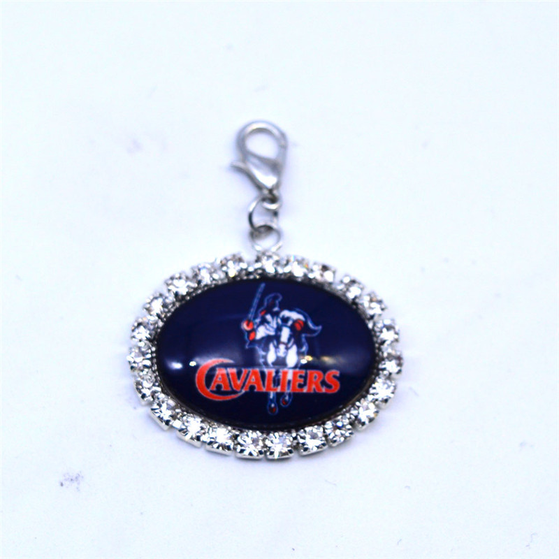 Pendant Charms Rhinestone U.S. Army Academy Charms Basketball Sports Dangle Charms for Women Men Diy Jewelry Fashion 2018