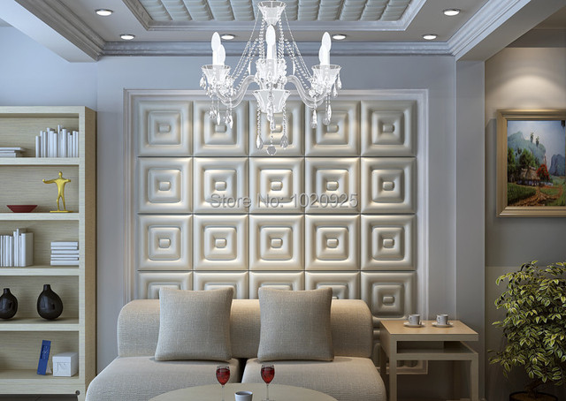 leather wall panels Acoustic Panels Faux Leather Ceiling Tile Faux ...