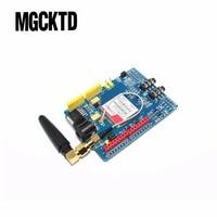 F1 03Free Shipping 1PCS LOT SIM900 GPRS GSM Shield Development Board Quad Band Module For Arduino