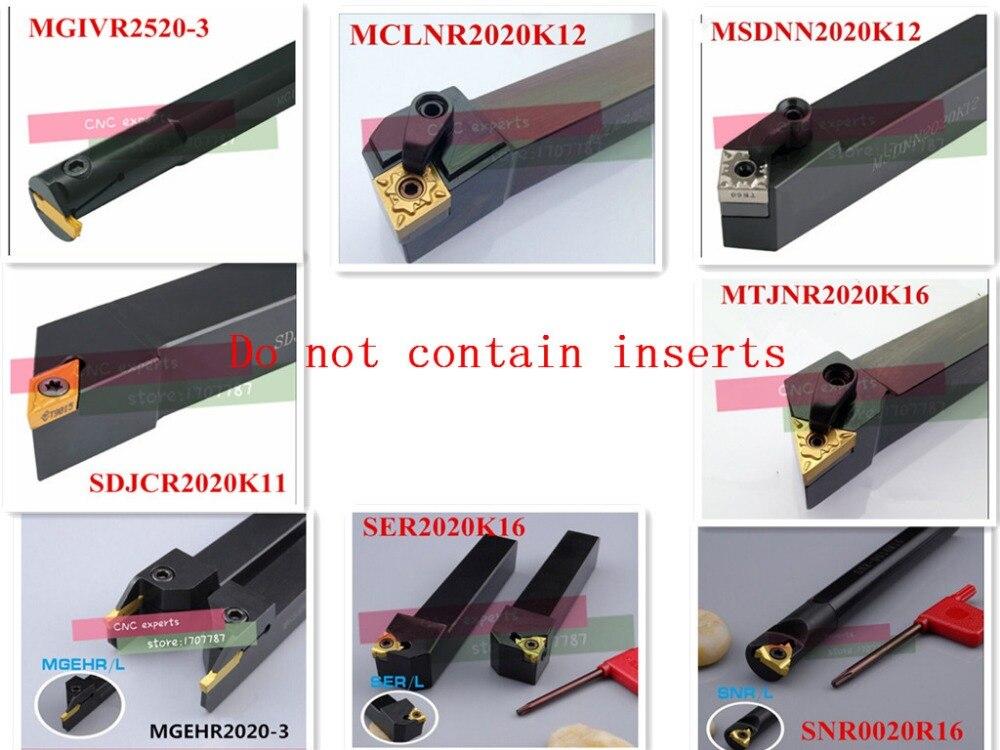 20mm 8pcs Lathe cutting tool set the most useful cutter set 8pcs turning tool set to