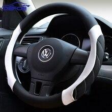 Nuevo Estilo de la cubierta del volante del coche Todo el año se puede utilizar Coche deportivo Auto volante de Diámetro 36,38 40 cm 4 estilo de color para elegir