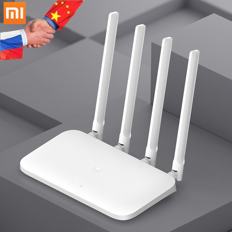 Original Xiaomi Mi Router 4A 2.4G/5GHz Gigabit Edition Dual Band WiFi Repeater 4 Antennas Support WPA APP Control Xiaomi Routers