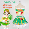 Japanese Anime Love Live Koizumi Hanayo Cosplay Lolita Traje Cheerleading Uniformes Plus Size frete grátis personalizado