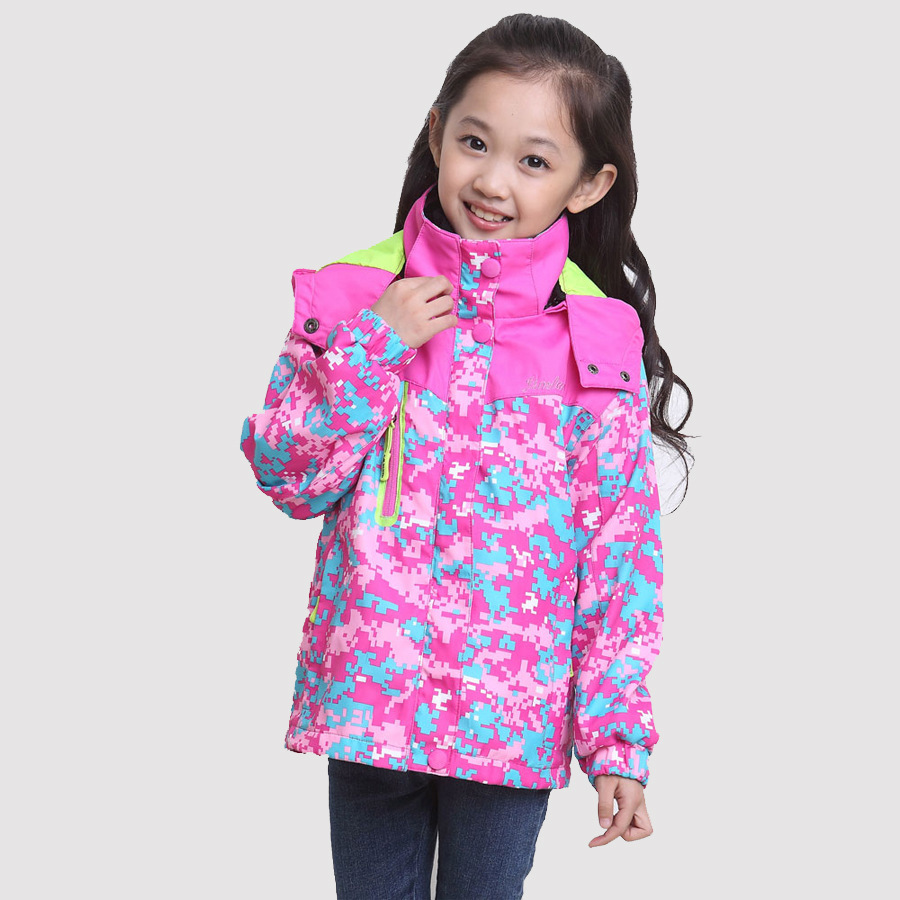 Girls Waterproof Coats