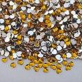 10000 PCS da forma do coração do ouro 3D Acrílico Nail Art Decorações Apartamento de Volta Strass Gemas de Telefone Celular acessórios de Decoração Por Atacado
