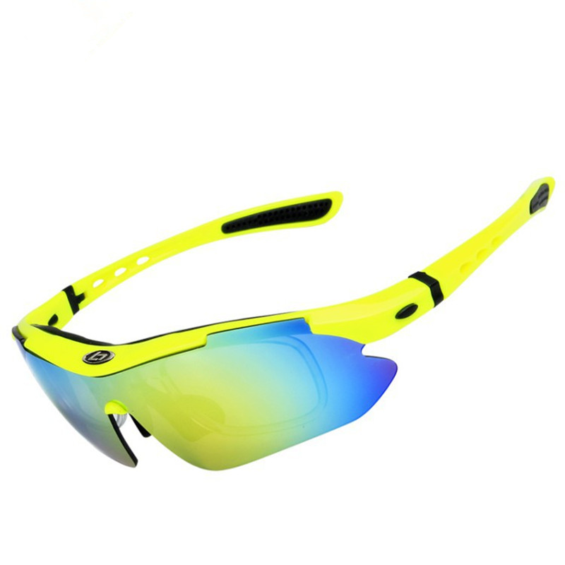 f47efc7dd2 Polarized Sports Sunglasses with 5 Interchangeable Lenses for Men Women  Cycling Running Fishing Glasses-in Fishing Eyewear from Sports    Entertainment on ...