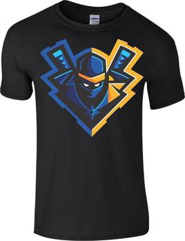 fdb3564f NINJA T-SHIRT YOUTUBER PUBG FORTNITE BATTLE ROYALE NINJASHYPER MYTH T Shirts  Cartoon t shirt men Unisex New Fashion tshirt