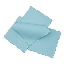 Silver Polishing Cloth blue Cleaning Polishing Jewelry Anti Tarnish Jewelry Maintenance Tools