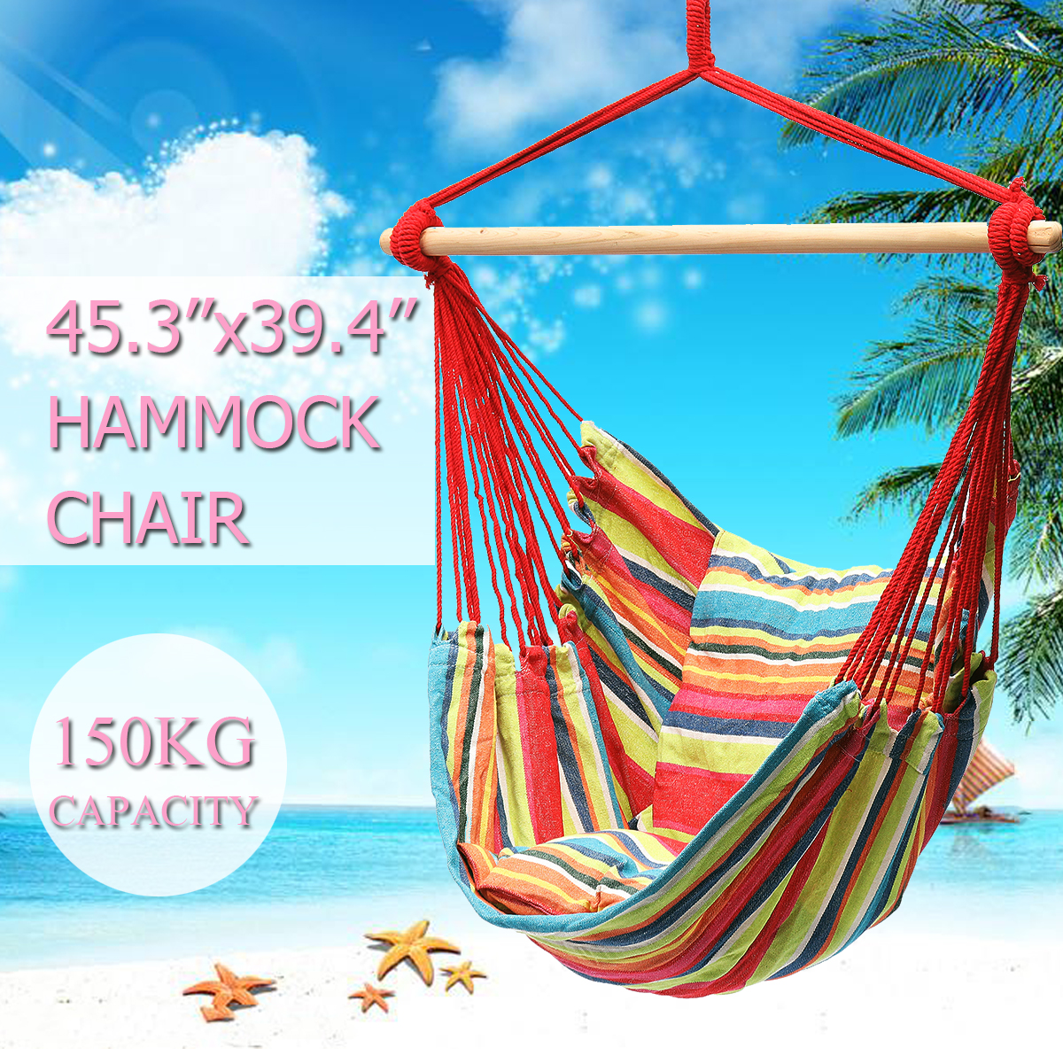 Fashion Hanging Swinging Chair Indoor Outdoor Furniture Hammocks Chair Canvas Dormitory Garden Swing + 2 Pillows Hammock Camping portable outdoor furniture hammock garden swing hanging chair hang swinging outdoor camping swing canvas red stripe