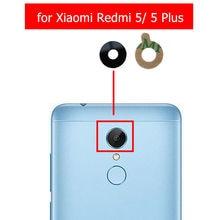 2 шт. для Xiaomi Redmi 5/Redmi 5 Plus камера со стеклянными линзами задняя камера стеклянный объектив с клеем запасные части для ремонта