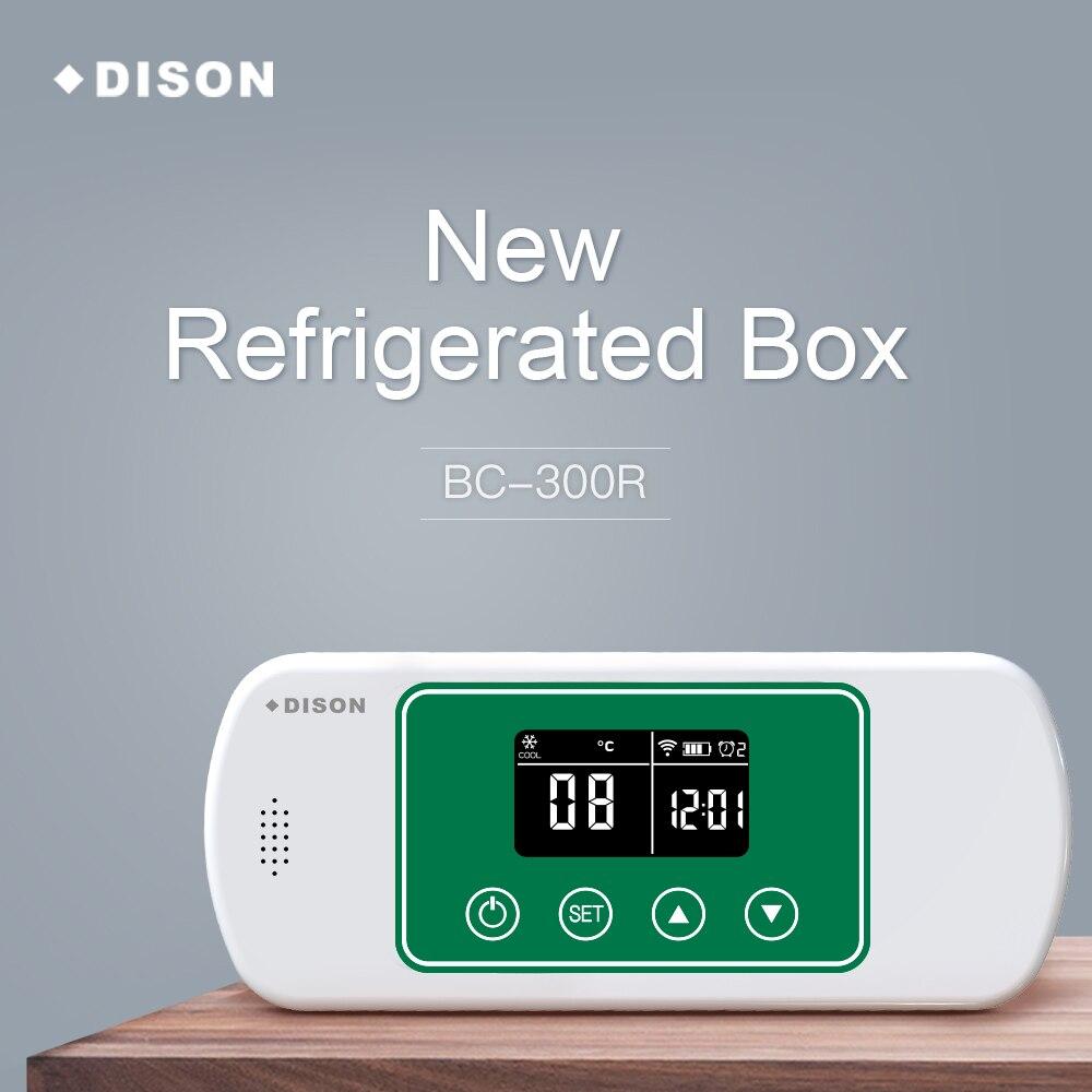 2019 NOVO Caso Insulina DISON Refrigerador Saco Refrigerador Portátil de Insulina Diabetes Travel Case Mini Geladeira