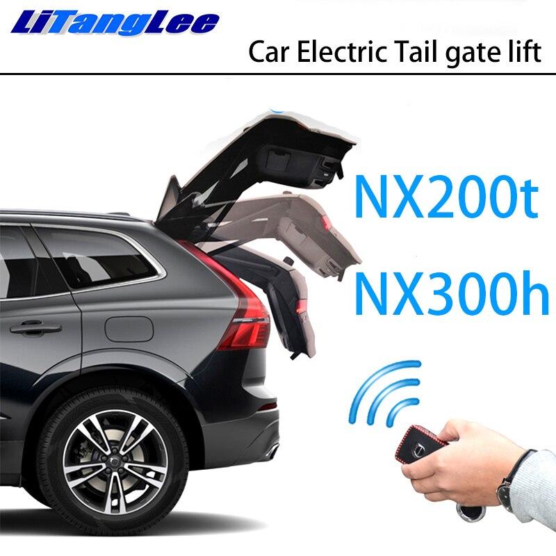 LiTangLee Car Electric Tail Gate Lift Trunk Rear Door Assist System For Lexus NX AZ10 NX200t NX300h 2015~2019 Remote Control