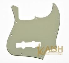 Light Cream 3 Ply JB Jazz/J Bass Pick Guard Scratch Plate with Screws