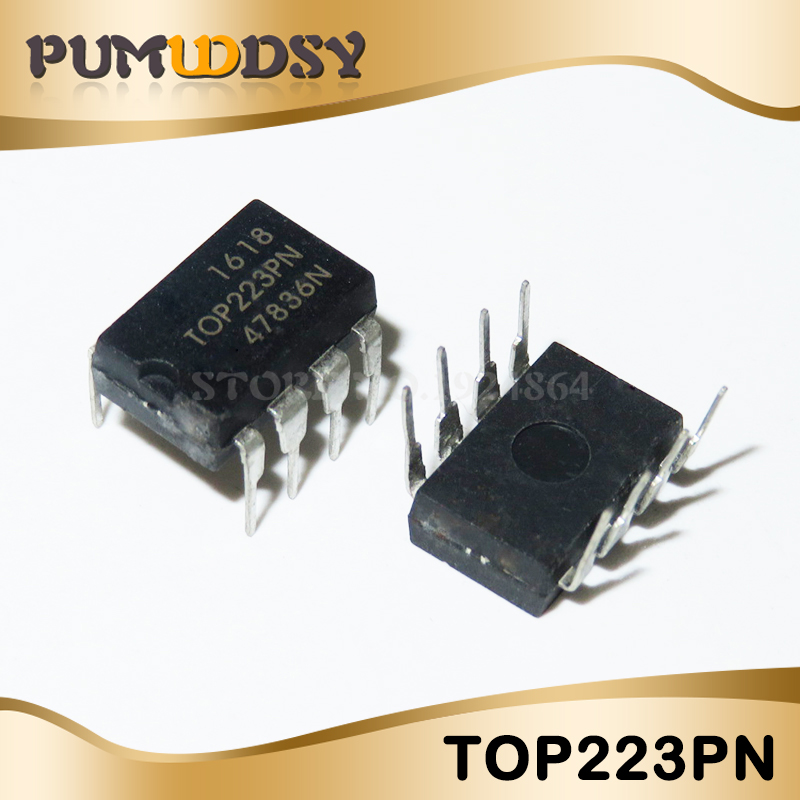 10pcs/lot Free shipping <font><b>TOP223P</b></font> TOP223PN management p new original IC image