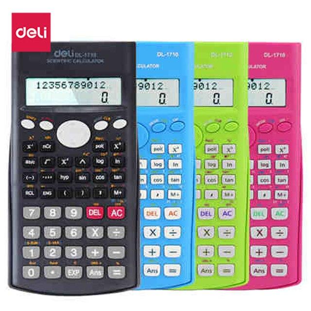 Deli 4 de color cl sico de calidad funci n de calculadora for Calculadora de redes