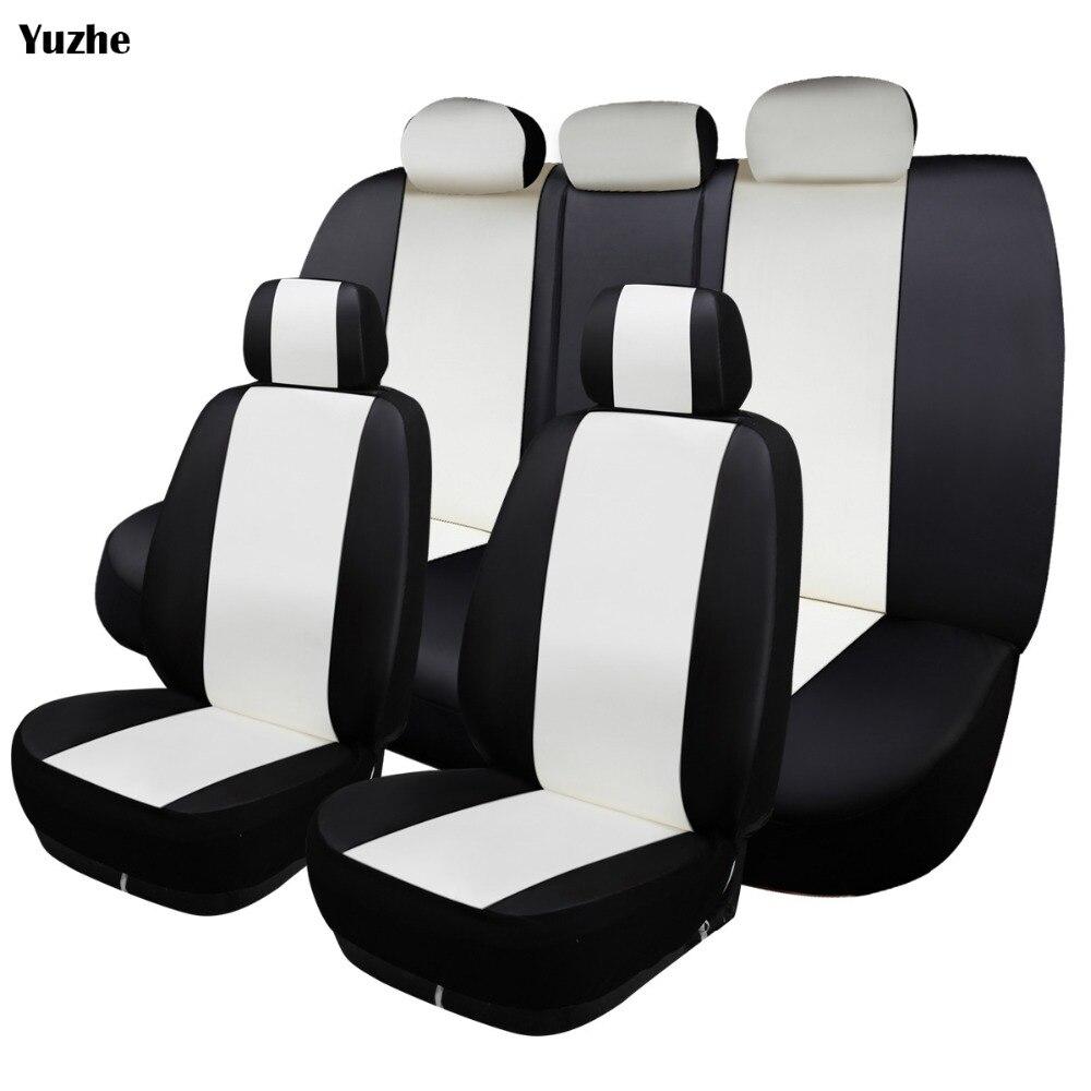 yuzhe universal auto leather car seat cover for toyota corolla rav4 highlander prado yaris. Black Bedroom Furniture Sets. Home Design Ideas