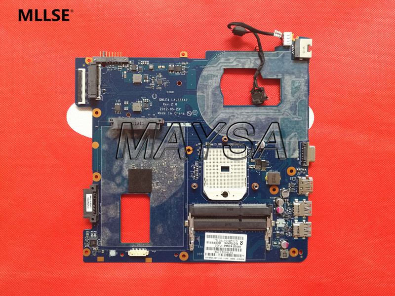 Laptop Motherboard Fit For SAMSUNG NP355V5C 355V5X NP365E5C QMLE4 LA-8864P Main Board, 100% working 574680 001 1gb system board fit hp pavilion dv7 3089nr dv7 3000 series notebook pc motherboard 100% working