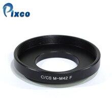 Adaptador de Lente Macro Para M42 Parafuso Montagem de Lente para C/CS Câmera