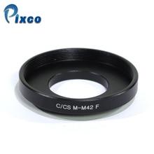 Macro Lens Adapter For M42 Screw Mount Lens to C/CS Camera