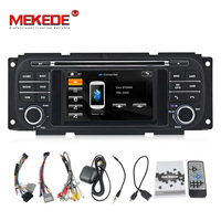 MEKEDE free shipping car Autoradio GPS DVD Navigation Stereo Headunit for Dodge Ram/Chrysler PT Cruiser/Jeep Grand Cherokee