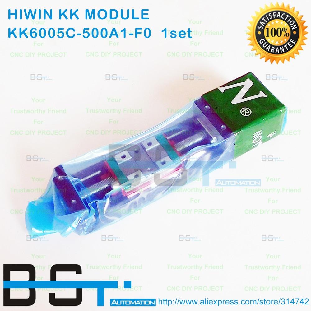 HIWIN 500mm KK60 C precision linear module KK6005C 500A1 F0 slide table system KK6005C Linear Stage