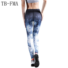 Tights Fitness Gym Running Leggings Yoga pants sport pants Print Yoga Pants High Elastic Stretch Sport Leggings Gym Workout