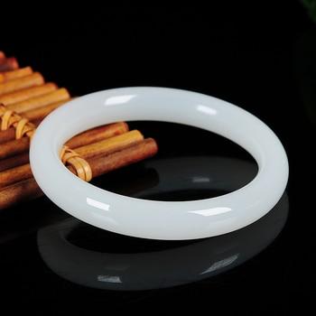 Jade Blanc Bracelet
